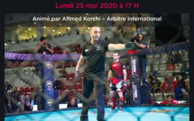 Webinar lundi 25 mai – Point d'étape sur le Code Sportif du MMA