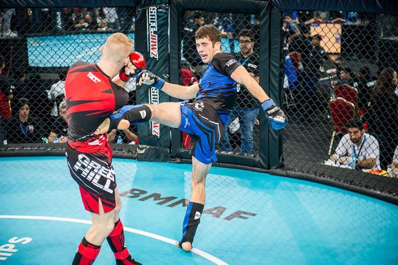 Photo compétiteur MMA