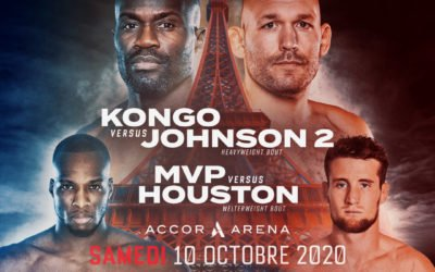 Premier gala international Bellator x FMMAF le 10 octobre à Paris !